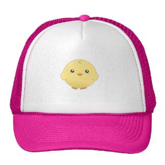 Cute kawaii yellow chick hat