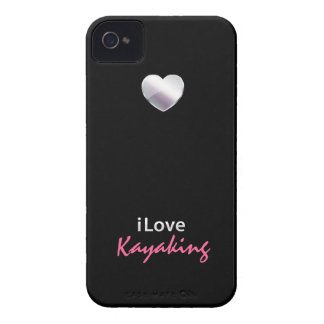 Cute Kayaking iPhone 4 Cases