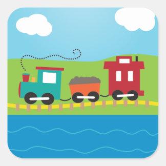Cute Kid s Choo Choo Train Sticker