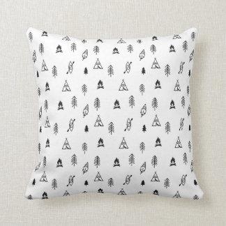 Cute kids adventure fashion cushion