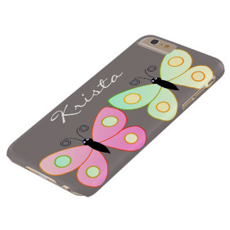 Cute Kids Butterfly / Monogram iphone Case