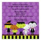 Cute Kids Halloween Costume Party Invitation