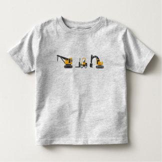 Cute Kids Heavy Equipment Construction Machines Toddler T-Shirt