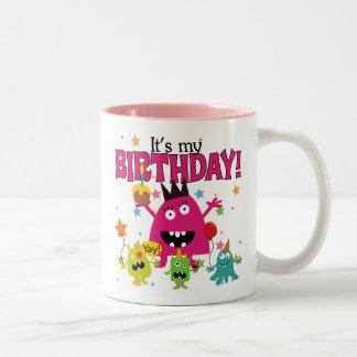 Cute Kids Monster Birthday Coffee Mug