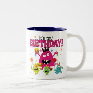 Cute Kids Monster Birthday Mugs