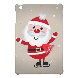 Cute kids santa red iPad mini cases