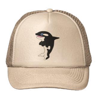 Cute killer whale cap