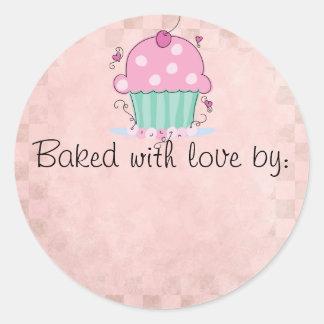 Cute Kitchen Label Round Sticker