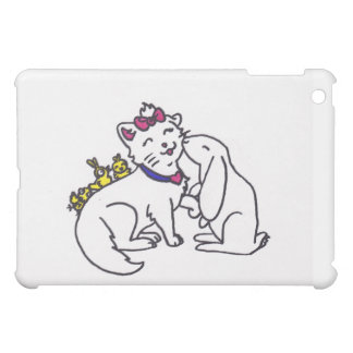 cute kitten and friends easter case for the iPad mini