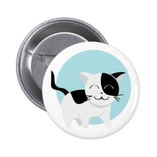Cute Kitten Pinback Buttons