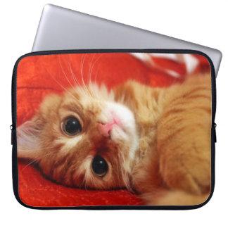cute kitten computer sleeves