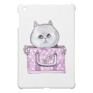 CUTE KITTEN IN A PURSE COVER FOR THE iPad MINI