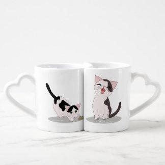 Cute Kitten Mug Set