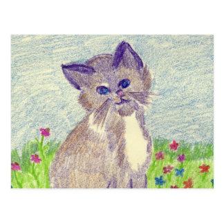 Cute Kitten Postcards
