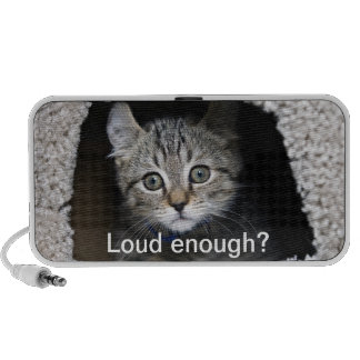 Cute Kitten Notebook Speakers