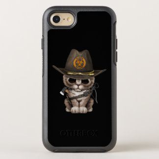 Cute Kitten Zombie Hunter OtterBox Symmetry iPhone 8/7 Case