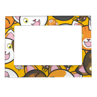 Cute Kitties Magnetic Picture Frame