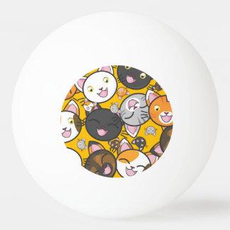 Cute Kitties Ping Pong Ball