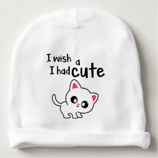 cute kitty cap baby beanie