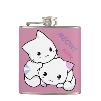 Cute Kitty Flask