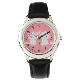 Cute kitty Kids Watches