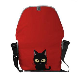Cute kitty messenger bag