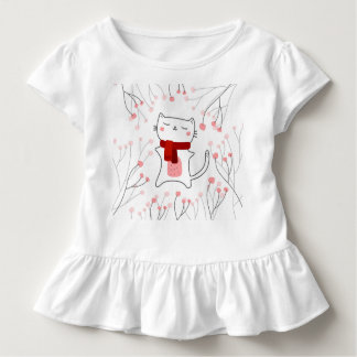 Cute kitty toddler T-Shirt