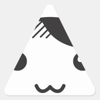 Cute Kitty Triangle Sticker