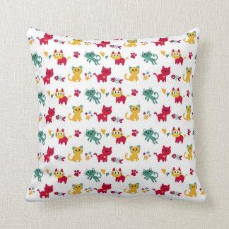 Cute Kittys Pattern Cushion