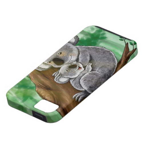 Cute Koala and Baby iPhone 5/5S Cases
