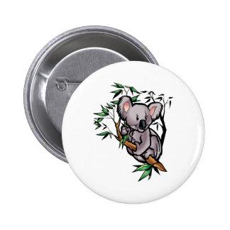 Cute Koala Bear 6 Cm Round Badge
