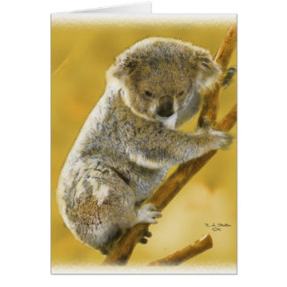 Cute...Koala Bear...Card! Card