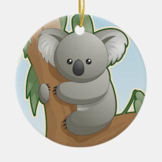 Cute Koala Bear Ceramic Ornament