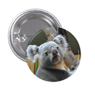 """Cute Koala Bear"" design  gifts and products 3 Cm Round Badge"