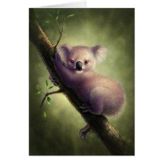 Cute Koala Bear Greeting Card