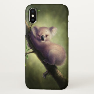 Cute Koala Bear Zazzle iPhone X Case
