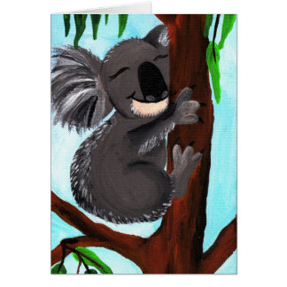Cute Koala Card