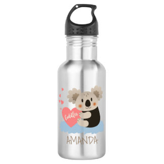Cute Koala Cuddles ID386 532 Ml Water Bottle
