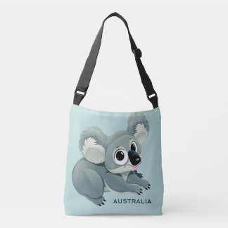 Cute Koala custom text bags