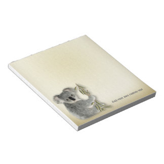 Cute Koala Notepad