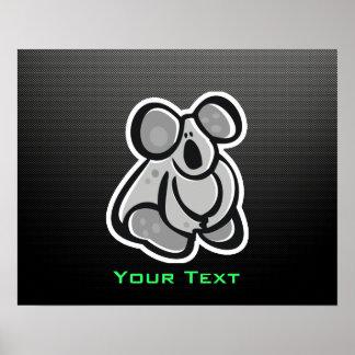 Cute Koala; Sleek Poster