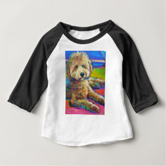 Cute LABRADOODLE Baby T-Shirt