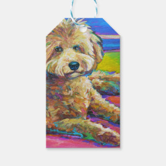 Cute LABRADOODLE Gift Tags