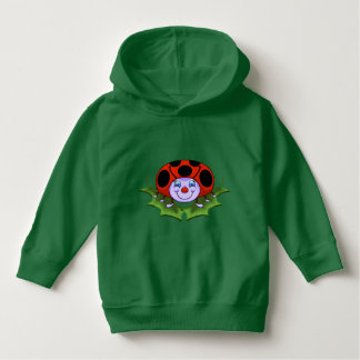 Cute Lady Bug Toddler Hoodie