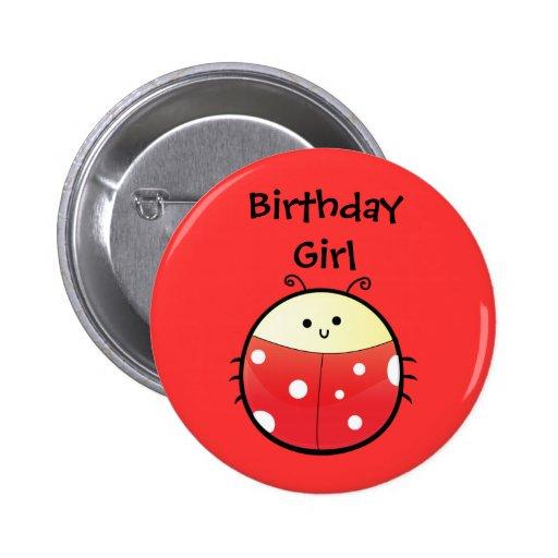 Cute Ladybird Pin