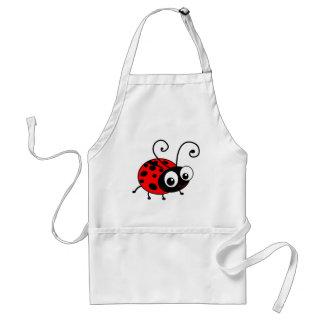 Cute Ladybug Adult Apron