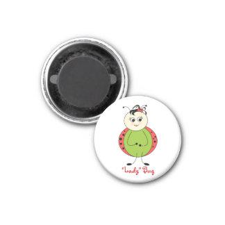 Cute Ladybug Girly Fashion Magnet