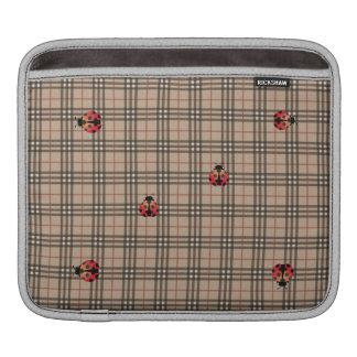 Cute Ladybug iPad Sleeve