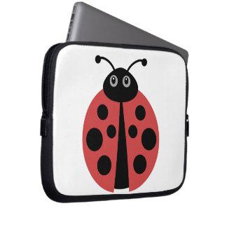 Cute Ladybug Laptop Sleeve