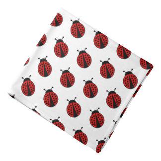 Cute ladybug pattern bandana
